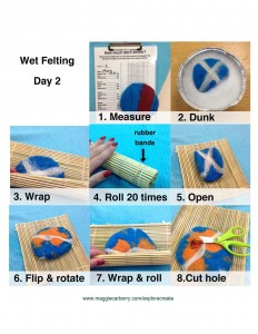 wet felting 3 of 4